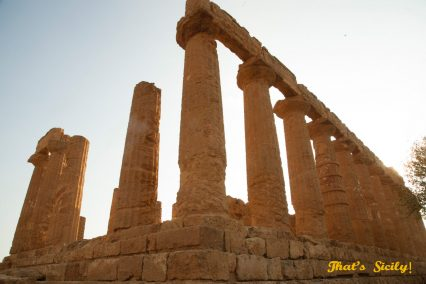 That's Sicily, man-made wonders, archeological sites