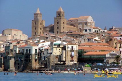 That's Sicily, churches and buildings