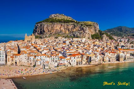 That's Sicily, citys, towns and villages